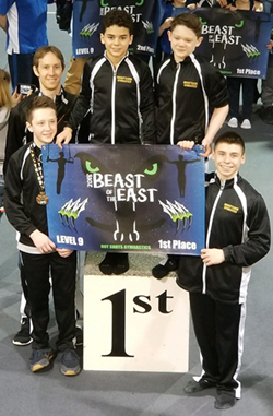 Level 9 Boys Beast of the East Meet 2018