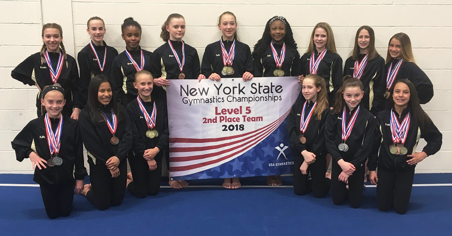 Level 5 Team | Bright Raven Gymnastics