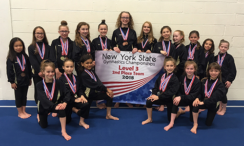 Level 3 Team with State Banner
