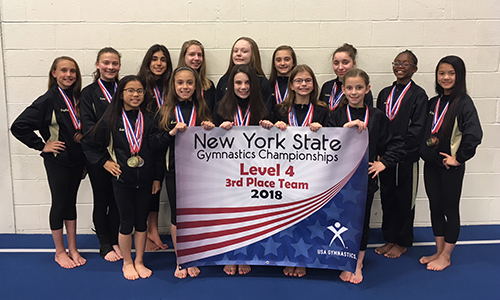 Level 4 Team with State Banner