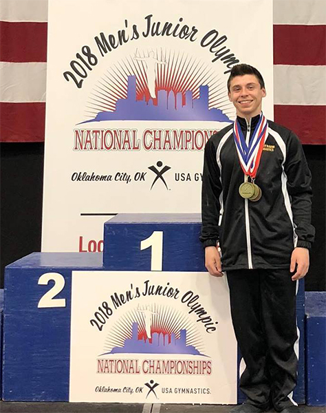 Justin Ciccone National Champion 2018